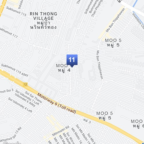 Prai Training Map