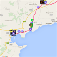 Greenway  Waterford  map