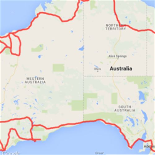 Map Around Australia.Scribble Maps Discover Maps